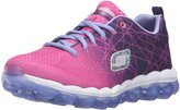 Skechers Girl's Skechers, Skech Air Laser Lite Athletic Shoe PURPLE HOT PINK 2 M