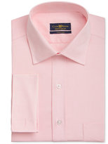 Club Room Men's Classic/Regular Fit Wrinkle Resistant French Cuff Dress Shirt, Only at Macy's