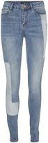Vero Moda Light Blue Denim Distressed Skinny Jeans