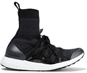 adidas by Stella McCartney Ultraboost Stretch-knit High-top Sneakers