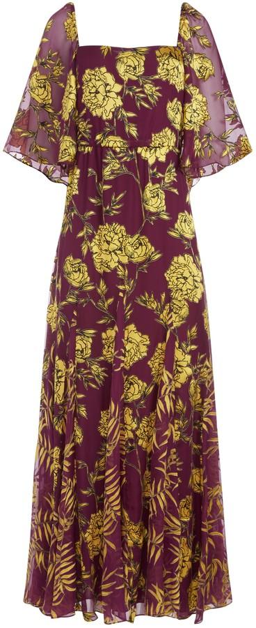 Alice + Olivia Clarine Maxi Dress