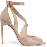 Brian Atwood Michelle patent-leather sandals