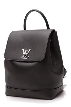 Louis Vuitton Lockme Black Leather Backpacks