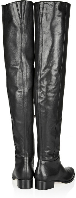 Jimmy Choo Giorgina leather over-the-knee boots
