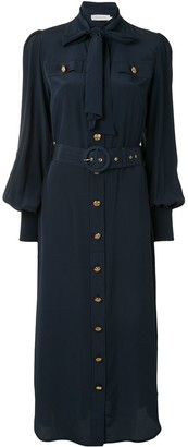 Zimmermann Belted Midi Shirt Dress