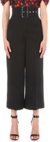 Givenchy Belted wide-leg wool culottes