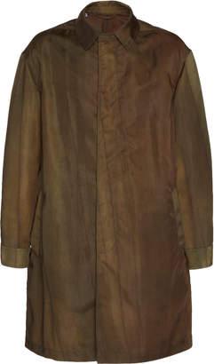 Lanvin Hand-Painted Shell Raincoat