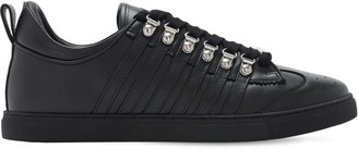 DSQUARED2 251 Leather Low-Top Sneakers