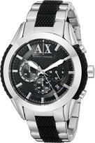 Armani Exchange A|X Men's AX1214 Analog Display Analog Quartz Two Tone Watch