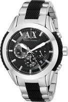Armani Exchange A|X Men's AX1214 /Black Stainless Steel Watch