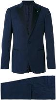 Lardini formal suit - men - Polyester/Cupro/Viscose/Wool - 46