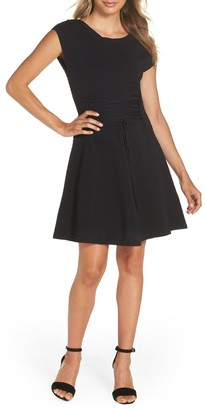 French Connection Katie Fit & Flare Sweater Dress