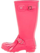 Hunter Kiltie-Accented Rain Boots