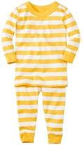 Baby Long John Pajamas In Organic Cotton