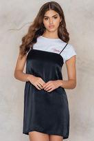 Straight Mini Slip Dress