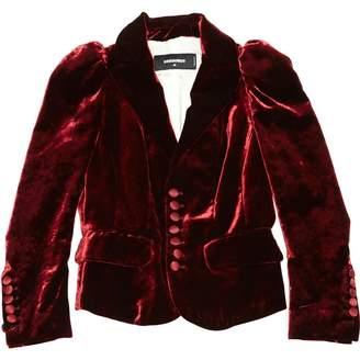 DSQUARED2 Red Velvet Jackets