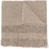 Stella McCartney fringed scarf