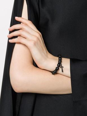 Loree Rodkin 14kt White Gold Diamond Bead Bracelet