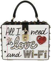 Dolce & Gabbana Graffiti Box Shoulder Bag