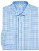 Brooks Brothers Twill Glen Plaid Regent Classic Fit Dress Shirt