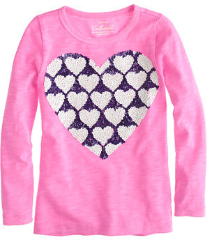 Sequin Hearts Girls' long-sleeve tee