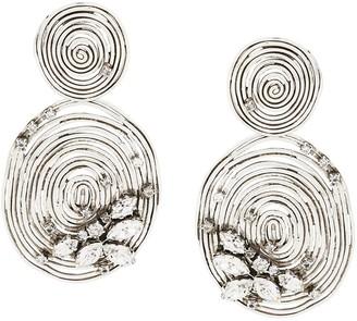 Gas Bijoux Wave earrings