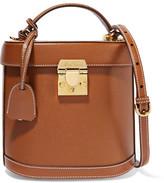 Mark Cross Benchley Leather Shoulder Bag - Brown