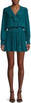 Ramy Brook V-Neck Mini Dress