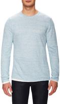 Vince Linen Double Layer Crewneck Sweater