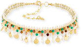 Nakamol Multicolored Beaded Choker Necklace