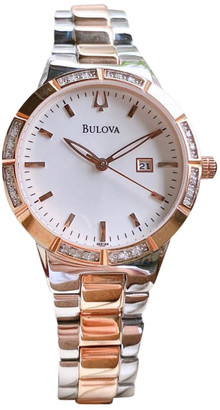 Bulova Multicolour gold and steel Watches