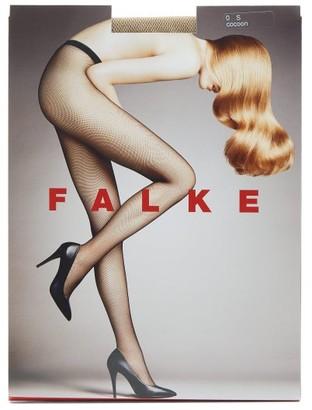 Falke Fishnet Tights - Nude