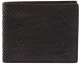 John Varvatos Men's Leather Bifold Wallet - Black