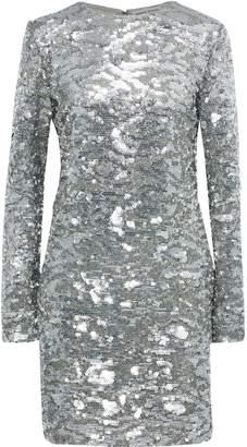 Sonia Rykiel Sequined Tulle Mini Dress