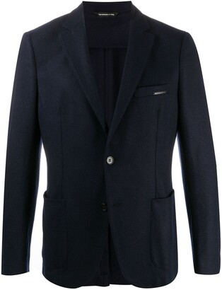 Tonello Fitted Single Breasted Blazer