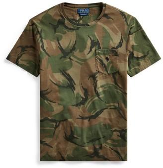 Ralph Lauren Custom Slim Fit Camo T-Shirt