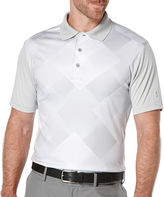 Pga Tour PGA TOUR Short-Sleeve Altered Argyle Golf Performance Polo