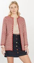 Esprit Diamond pattern coat blended