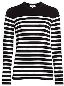 Michael Kors Women's Striped Cotton Sweater