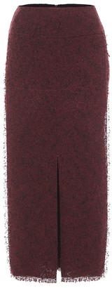 Roland Mouret Booth wool-blend pencil skirt