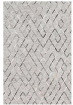 "Loloi Rugs Audie Silver Hairhide Rug, 9'3"" x 13'"