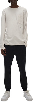Helmut Lang Men's Long-Sleeve T-Shirt with Straps