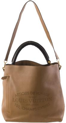 Louis Vuitton Brown Leather Voyage Bagatelle Satchel