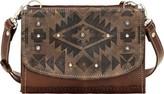 American West Women's Mystic Shadow Small Crossbody Bag/Wallet