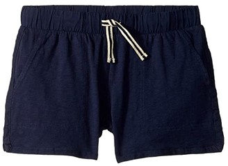 crewcuts by J.Crew Ester Shorts (Toddler/Little Kids/Big Kids) (Deep Navy) Girl's Shorts