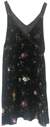 R 13 Multicolour Velvet Dress for Women