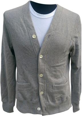 Comme des Garcons Grey Cotton Knitwear & Sweatshirts