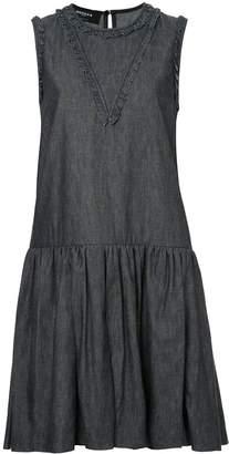 Rochas Sleeveless Denim Dress