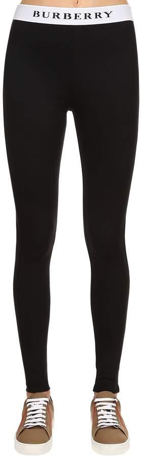 Burberry Logo Lycra Leggings