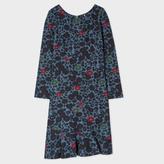 Paul Smith Women's Petrol 'Floral' Print Milano Dress